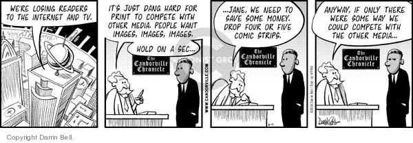 Comic Strip Darrin Bell  Candorville 2011-02-28 print