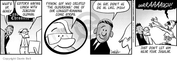 Comic Strip Darrin Bell  Candorville 2011-03-02 lunch