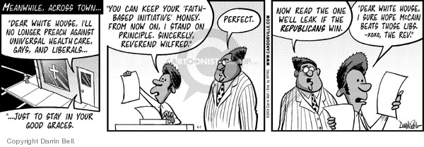 Comic Strip Darrin Bell  Candorville 2008-04-01 republican party