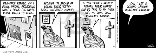 Comic Strip Darrin Bell  Candorville 2008-04-02 second opinion
