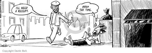 Comic Strip Darrin Bell  Candorville 2008-04-11 tax