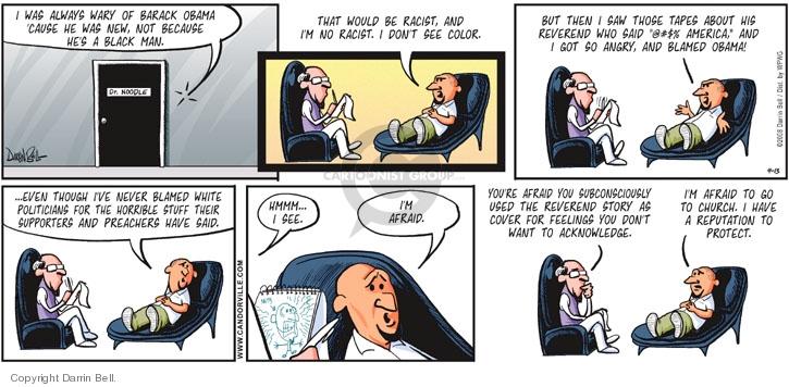 Comic Strip Darrin Bell  Candorville 2008-04-13 color