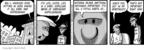 Cartoonist Darrin Bell  Candorville 2009-08-31 distract