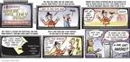 Cartoonist Darrin Bell  Candorville 2009-09-13 illegal immigrant