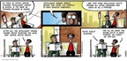 Comic Strip Darrin Bell  Candorville 2005-11-13 religion science