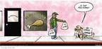 Cartoonist Darrin Bell  Candorville 2005-11-20 fast food
