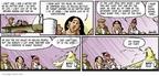 Cartoonist Darrin Bell  Candorville 2006-01-22 first night