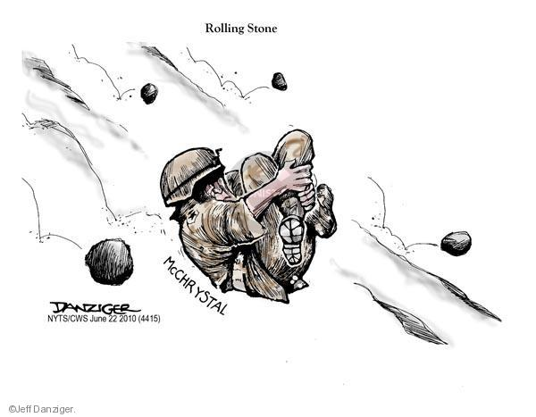 Jeff Danziger  Jeff Danziger's Editorial Cartoons 2010-06-22 armed forces