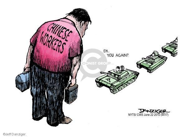 Jeff Danziger  Jeff Danziger's Editorial Cartoons 2010-06-22 chinese