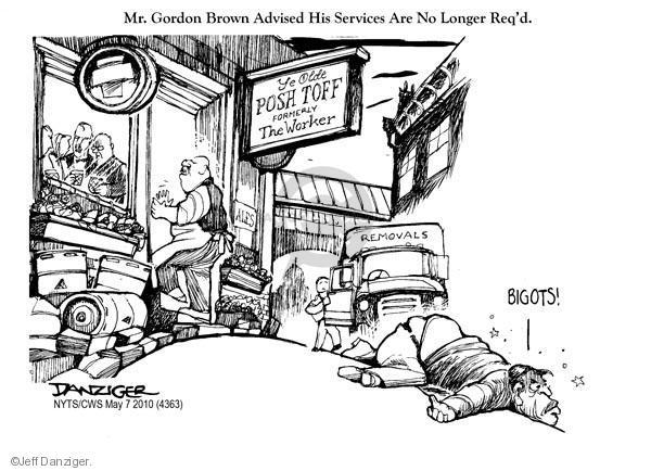 Cartoonist Jeff Danziger  Jeff Danziger's Editorial Cartoons 2010-05-07 party
