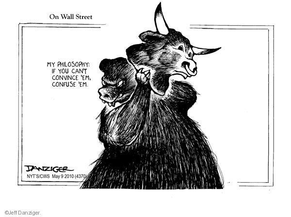 Jeff Danziger  Jeff Danziger's Editorial Cartoons 2010-05-09 stock market