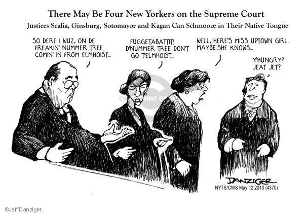 Cartoonist Jeff Danziger  Jeff Danziger's Editorial Cartoons 2010-05-12 don't