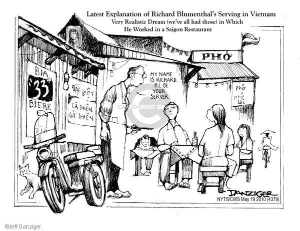 Cartoonist Jeff Danziger  Jeff Danziger's Editorial Cartoons 2010-05-19 Connecticut