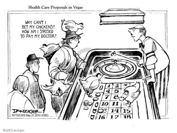 Cartoonist Jeff Danziger  Jeff Danziger's Editorial Cartoons 2010-05-21 Las Vegas