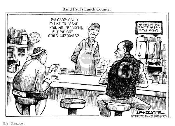 Jeff Danziger  Jeff Danziger's Editorial Cartoons 2010-05-21 1950s