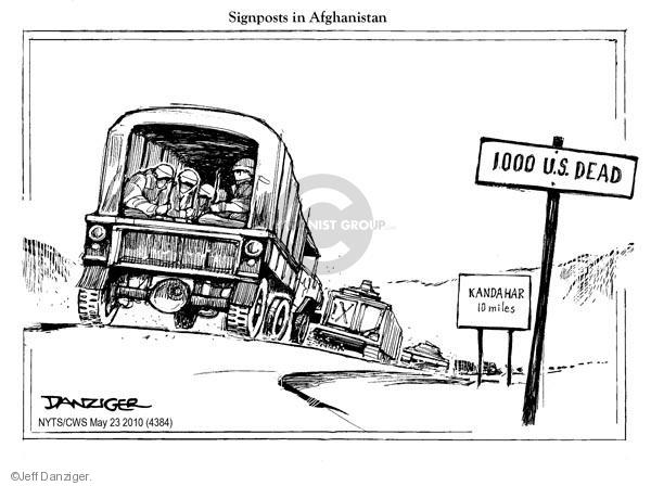 Jeff Danziger  Jeff Danziger's Editorial Cartoons 2010-05-23 armed forces