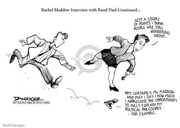 Cartoonist Jeff Danziger  Jeff Danziger's Editorial Cartoons 2010-05-24 interview