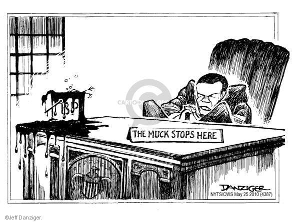 Cartoonist Jeff Danziger  Jeff Danziger's Editorial Cartoons 2010-05-25 Oval Office