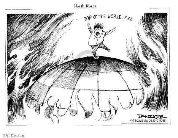 Cartoonist Jeff Danziger  Jeff Danziger's Editorial Cartoons 2010-05-25 bomb