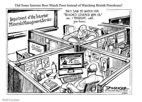 Jeff Danziger  Jeff Danziger's Editorial Cartoons 2010-05-27 space