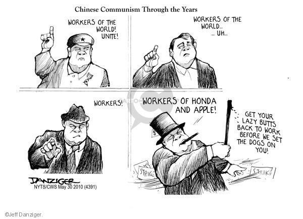 Jeff Danziger  Jeff Danziger's Editorial Cartoons 2010-05-30 chinese