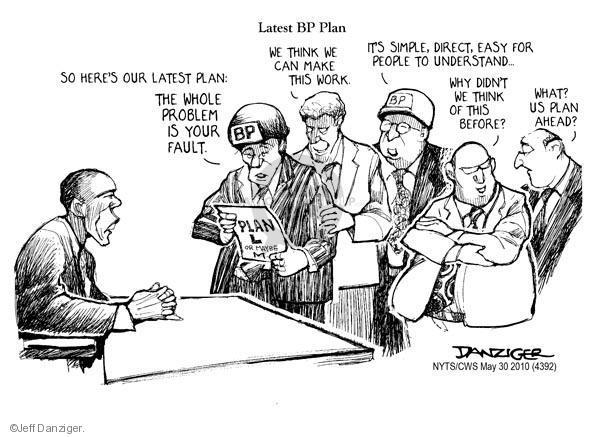 Jeff Danziger  Jeff Danziger's Editorial Cartoons 2010-05-30 ahead