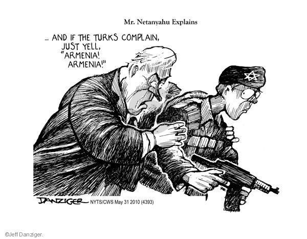 Jeff Danziger  Jeff Danziger's Editorial Cartoons 2010-05-31 attack