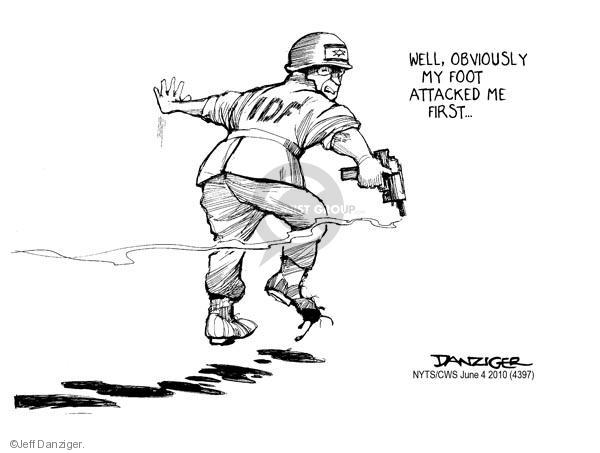 Jeff Danziger  Jeff Danziger's Editorial Cartoons 2010-06-04 armed forces