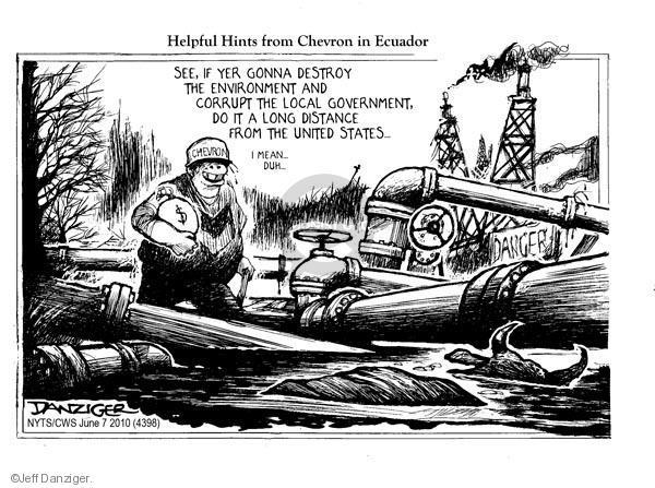 Cartoonist Jeff Danziger  Jeff Danziger's Editorial Cartoons 2010-06-07 big government