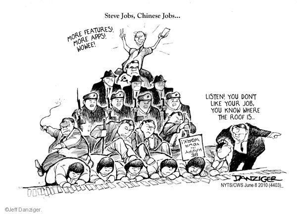 Cartoonist Jeff Danziger  Jeff Danziger's Editorial Cartoons 2010-06-08 don't
