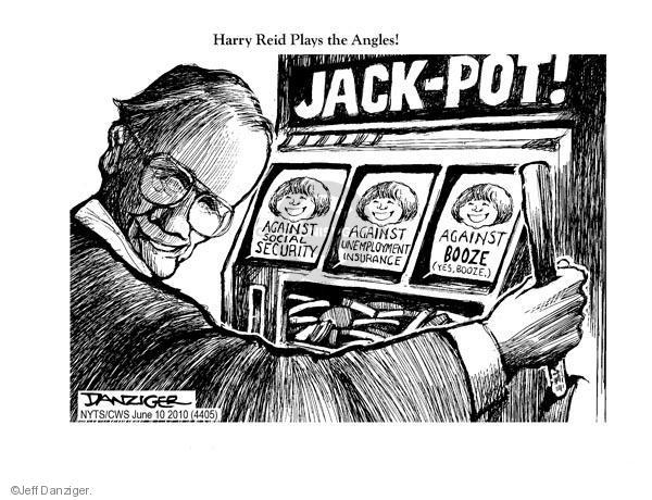 Cartoonist Jeff Danziger  Jeff Danziger's Editorial Cartoons 2010-06-10 senate majority leader