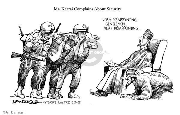 Cartoonist Jeff Danziger  Jeff Danziger's Editorial Cartoons 2010-06-13 United States
