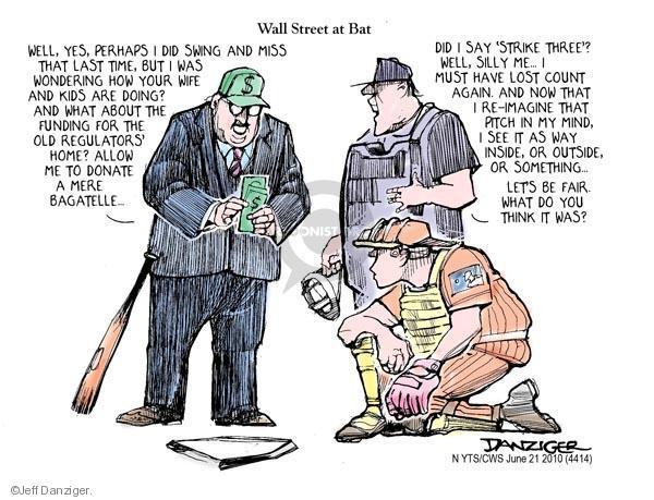 Jeff Danziger  Jeff Danziger's Editorial Cartoons 2010-06-21 political ethics