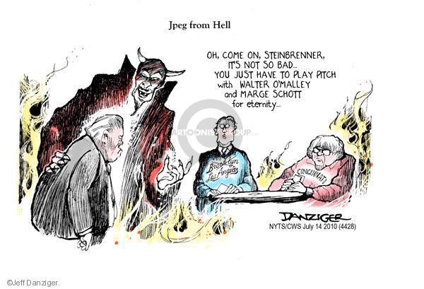 Cartoonist Jeff Danziger  Jeff Danziger's Editorial Cartoons 2010-07-14 owner