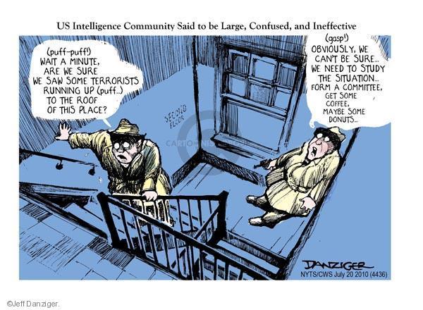 Cartoonist Jeff Danziger  Jeff Danziger's Editorial Cartoons 2010-07-20 roof