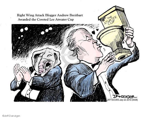 Cartoonist Jeff Danziger  Jeff Danziger's Editorial Cartoons 2010-07-22 cup