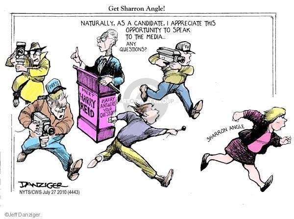 Cartoonist Jeff Danziger  Jeff Danziger's Editorial Cartoons 2010-07-27 senate majority leader