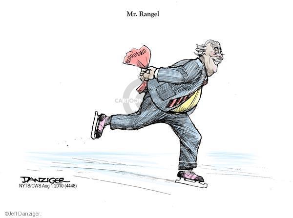 Jeff Danziger  Jeff Danziger's Editorial Cartoons 2010-08-01 political ethics