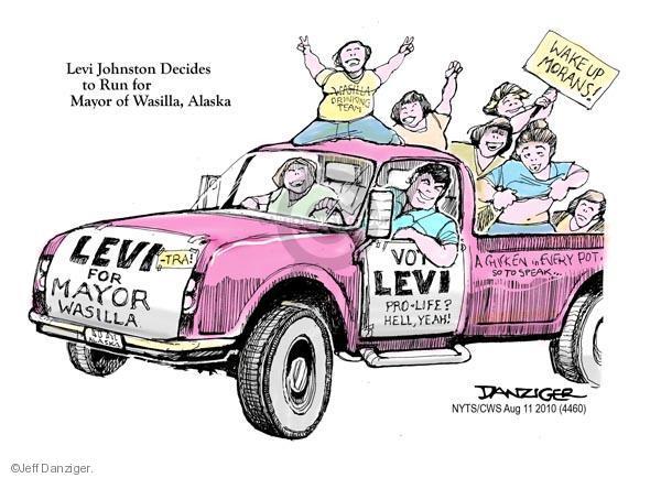 Cartoonist Jeff Danziger  Jeff Danziger's Editorial Cartoons 2010-08-11 pro