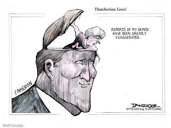 Cartoonist Jeff Danziger  Jeff Danziger's Editorial Cartoons 2010-08-19 quote