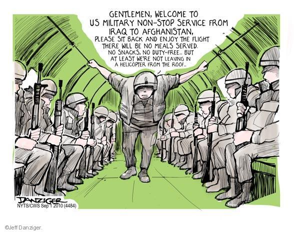 Jeff Danziger  Jeff Danziger's Editorial Cartoons 2010-09-01 armed forces
