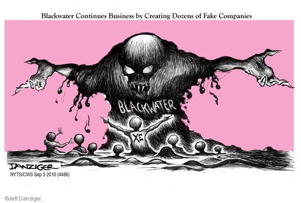 Cartoonist Jeff Danziger  Jeff Danziger's Editorial Cartoons 2010-09-05 company