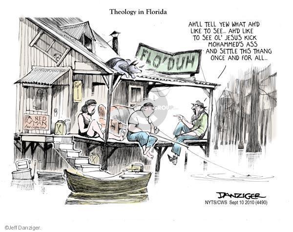 Cartoonist Jeff Danziger  Jeff Danziger's Editorial Cartoons 2010-09-10 kick