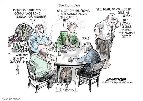 Jeff Danziger  Jeff Danziger's Editorial Cartoons 2010-09-13 front