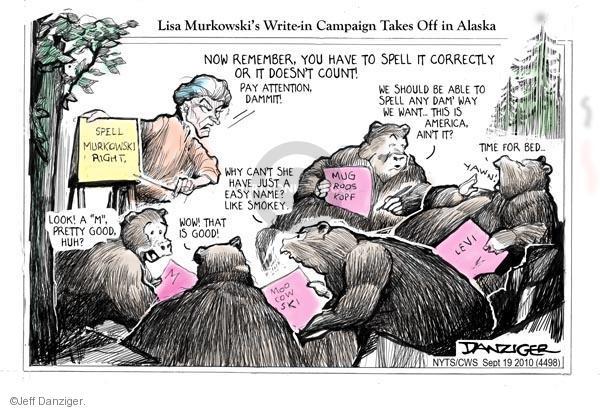 Jeff Danziger  Jeff Danziger's Editorial Cartoons 2010-09-19 republicans 2010 election