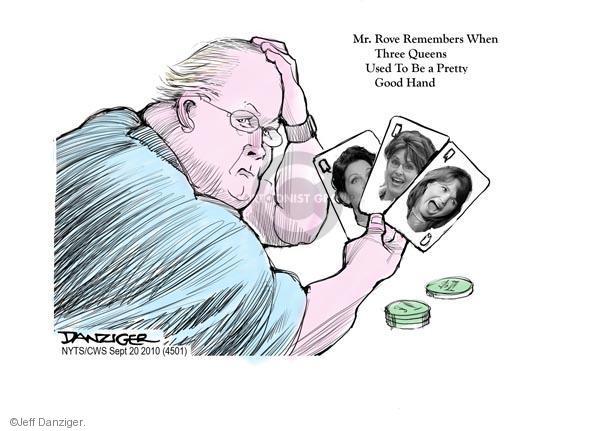 Cartoonist Jeff Danziger  Jeff Danziger's Editorial Cartoons 2010-09-20 party loyalty