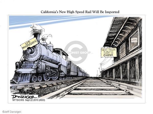 Cartoonist Jeff Danziger  Jeff Danziger's Editorial Cartoons 2010-09-22 speed