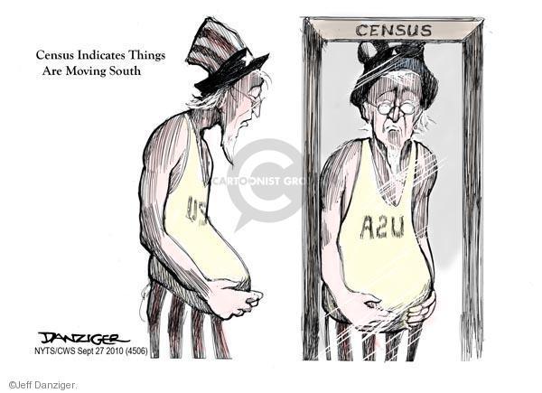 Cartoonist Jeff Danziger  Jeff Danziger's Editorial Cartoons 2010-09-27 demographics