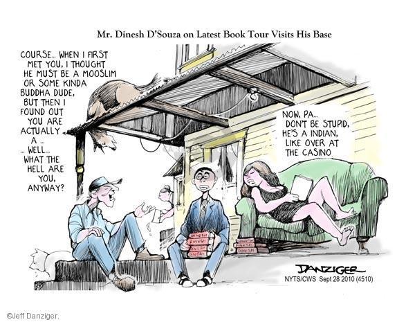 Cartoonist Jeff Danziger  Jeff Danziger's Editorial Cartoons 2010-09-28 book tour