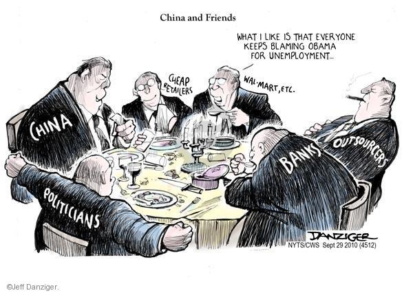 Jeff Danziger  Jeff Danziger's Editorial Cartoons 2010-09-29 chinese